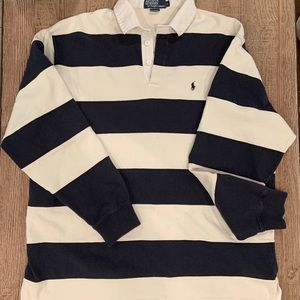 Polo by Ralph Lauren vintage Rugby stripe shirt